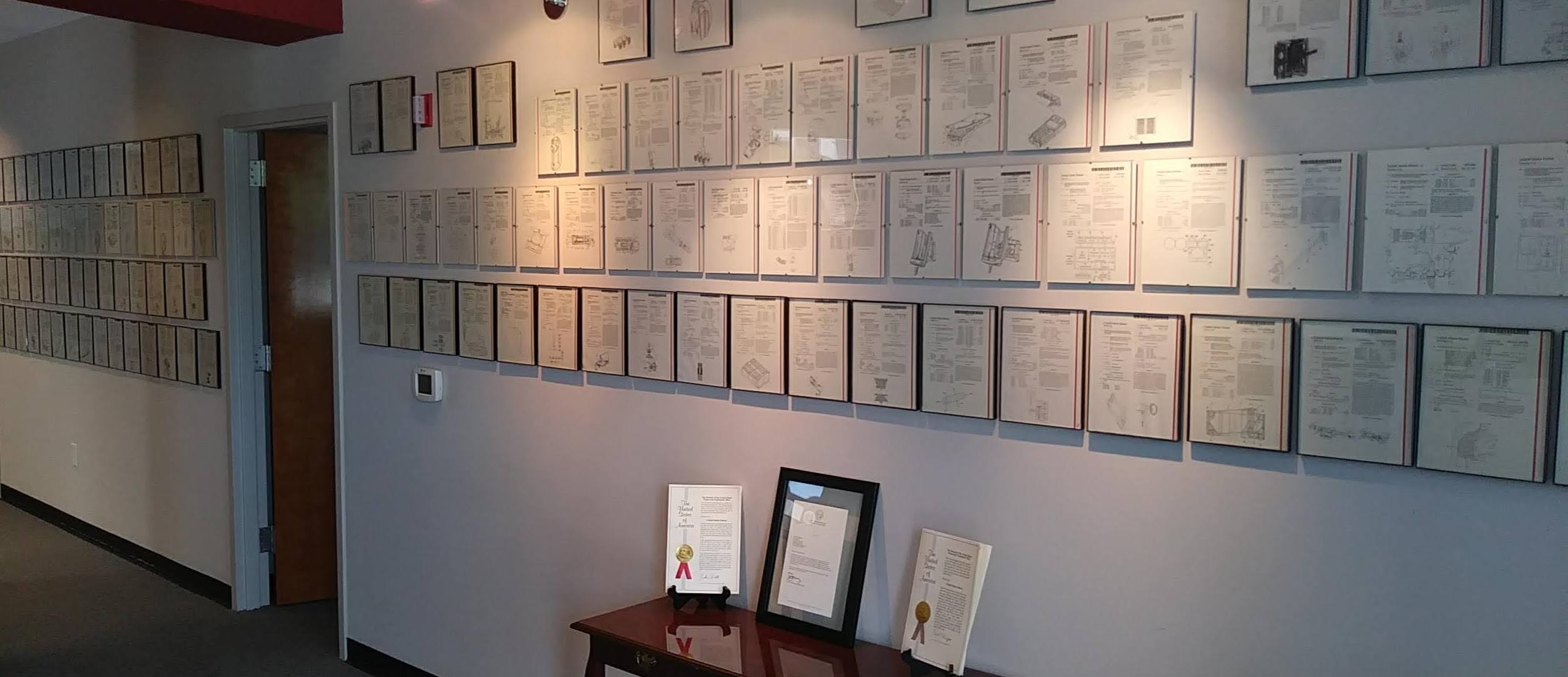 Porticos Patent Wall